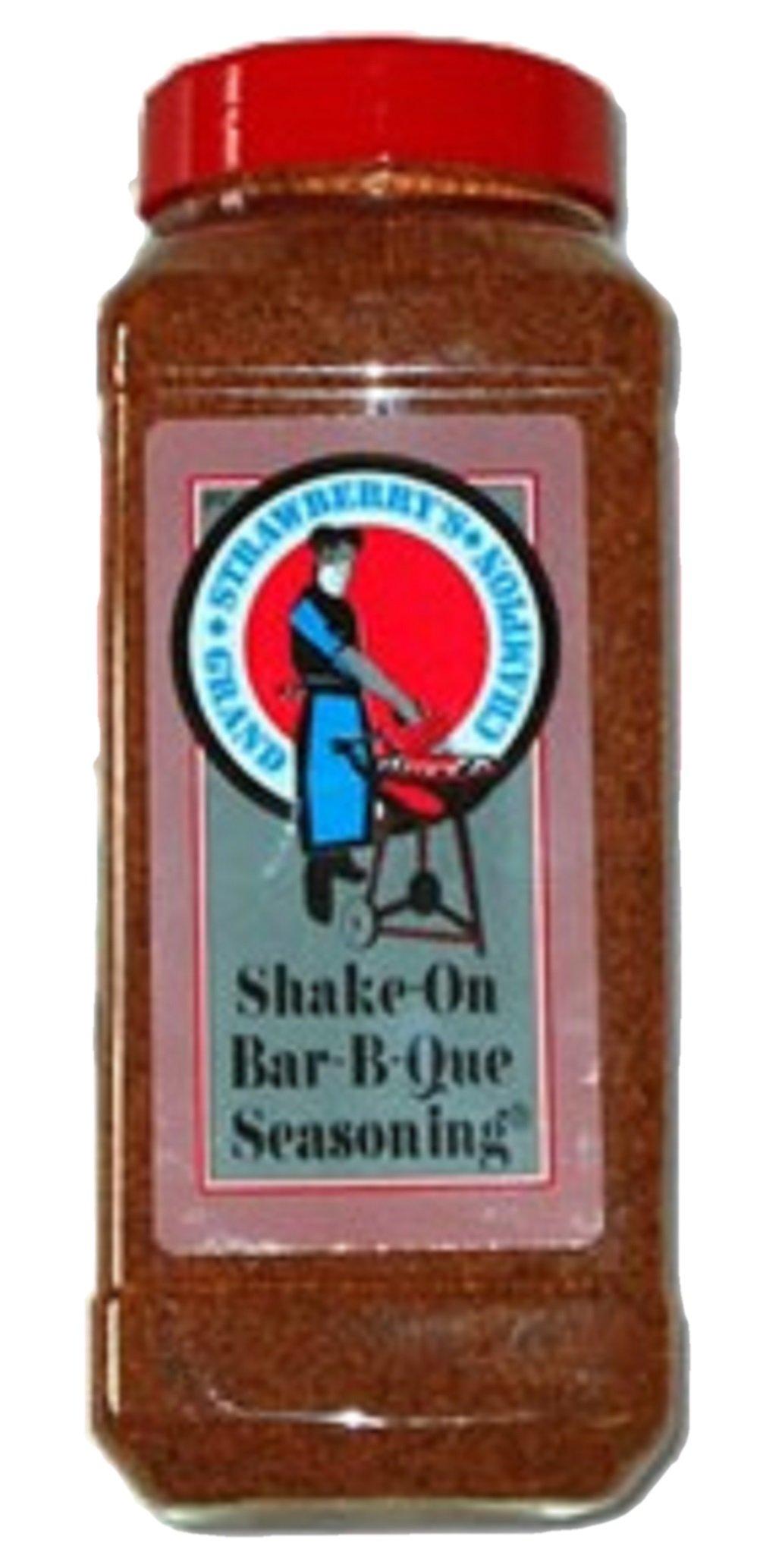 Strawberry's Grand Champion Shake-On Bar-B-Que Seasoning (24 oz.)