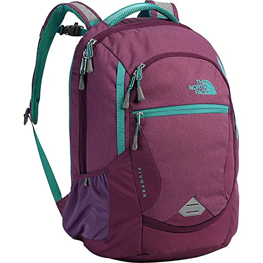 aec3ff935fcd Amazon.com  The North Face Women s Pivoter Laptop Backpack (Amaranth ...