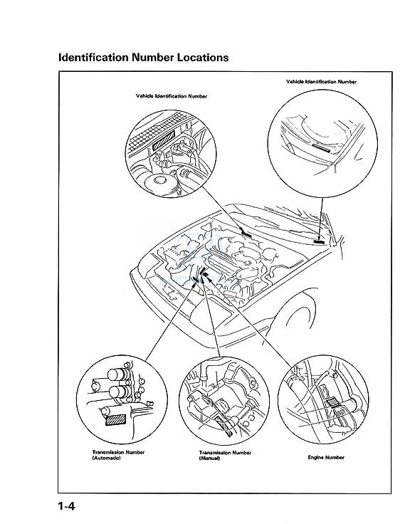 Bishko Automotive Literature 1991 Honda Prelude Shop Service Repair