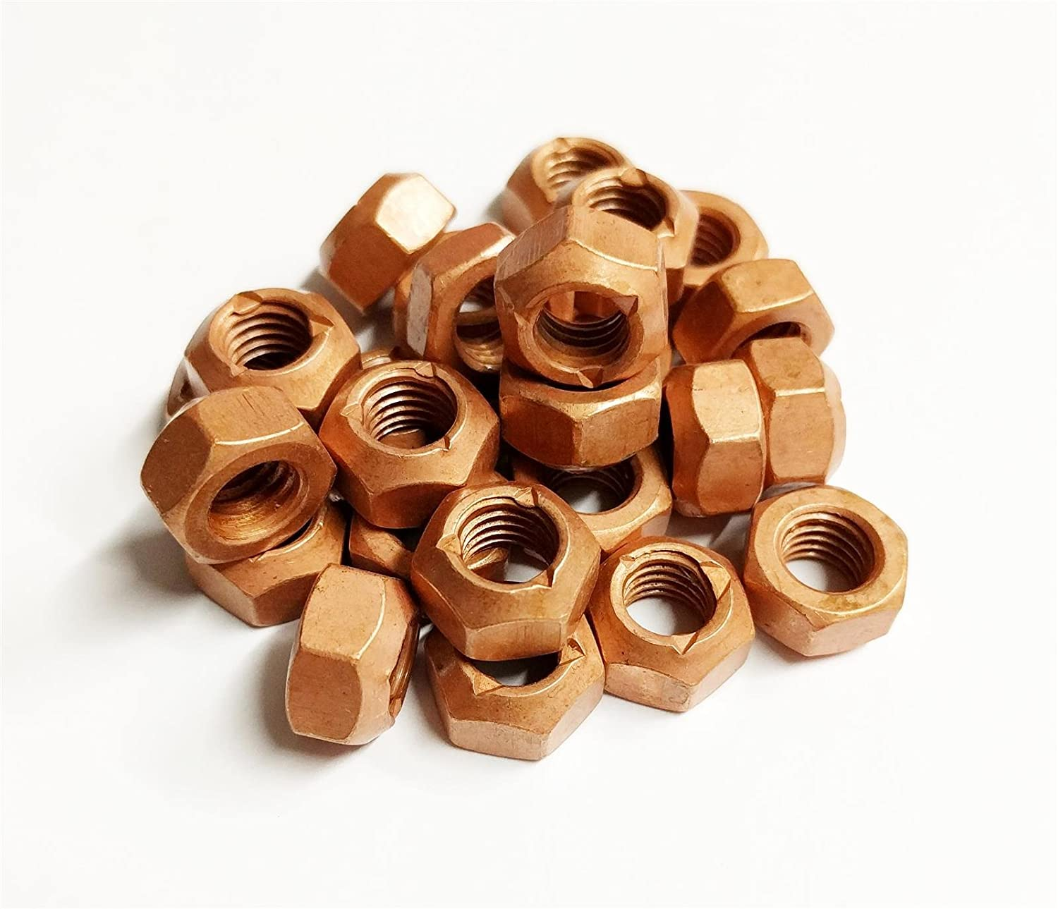 High Temperature Nuts 25x M10 Copper Flashed Exhaust Manifold 10mm Nut