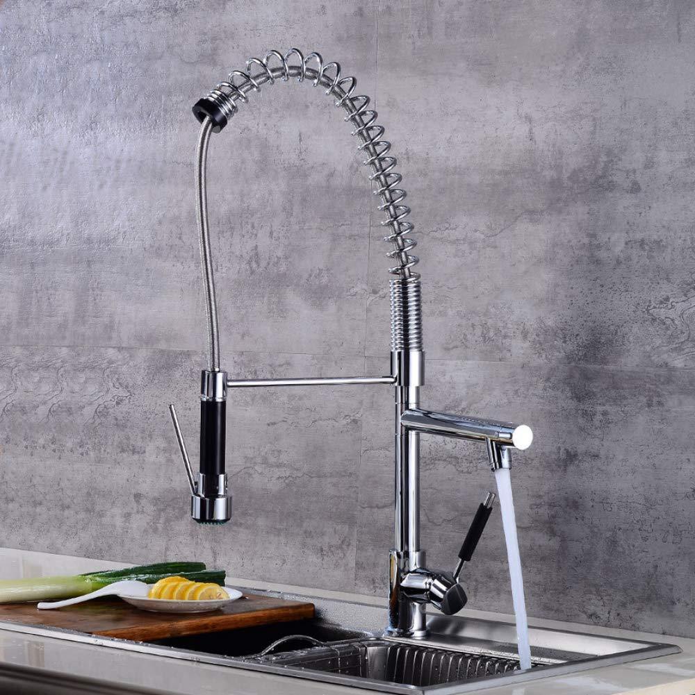 ZHHFaucet European above counter basin faucet washbasin faucet retro kitchen faucet waterfall faucet hot and cold faucet redating faucet basin faucet copper electroplating faucet