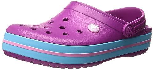 Crocs Crocband, Zuecos Unisex Adulto, Púrpura (Vibrant Violet), 42/43 EU
