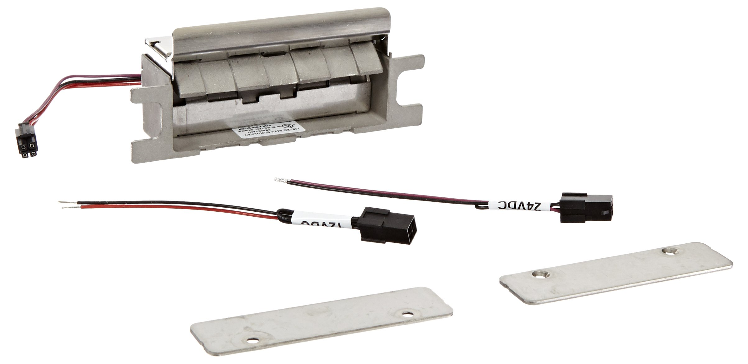HES 8500 Series Stainless Steel Concealed Electric Strike Body for Mortise Locksets, Satin Stainless Steel Finish