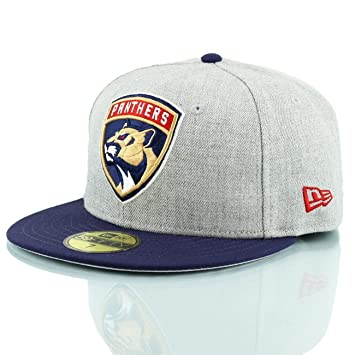 sale retailer 548a0 d8df8 New Era Florida Panthers Heather Top 59FIFTY Fitted NHL Cap 7