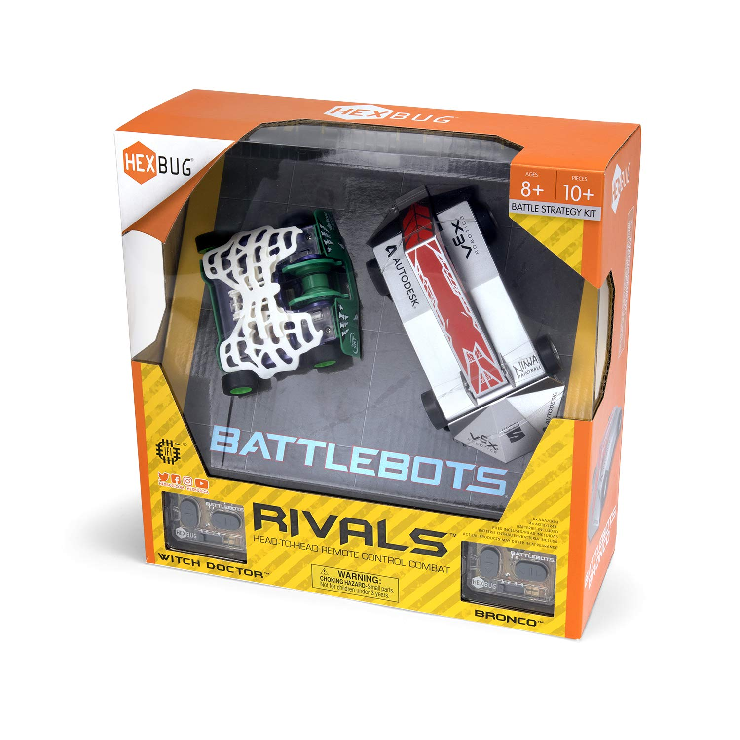 HEXBUG BattleBots Rivals (Bronco and Witch Doctor) by HEXBUG (Image #4)
