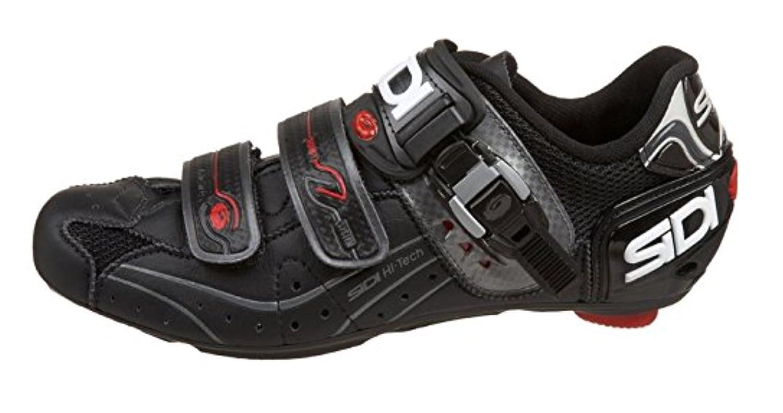 Black Sidi Genius 5.5 Road Bike Shoes
