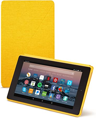 Amazon Com Amazon Fire 7 Tablet Case 7th Generation 2017 Release Canary Yellow Kindle Store
