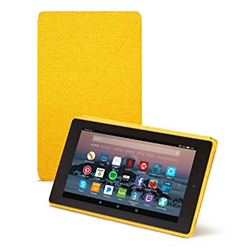 7th Generation, 2017 Release Canary Yellow Fire 7 Tablet Case