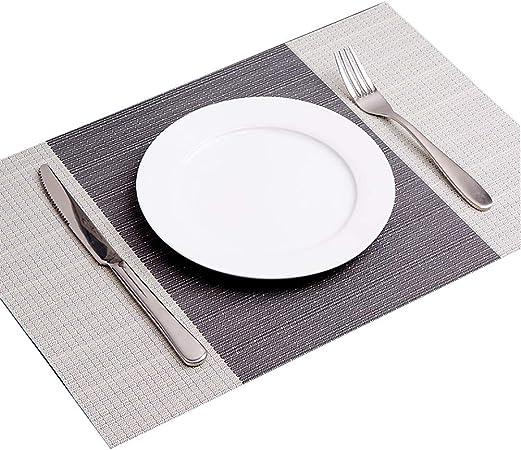 Zzkjlyn Set De Table Japonais Set De Table En Pvc Set De Table