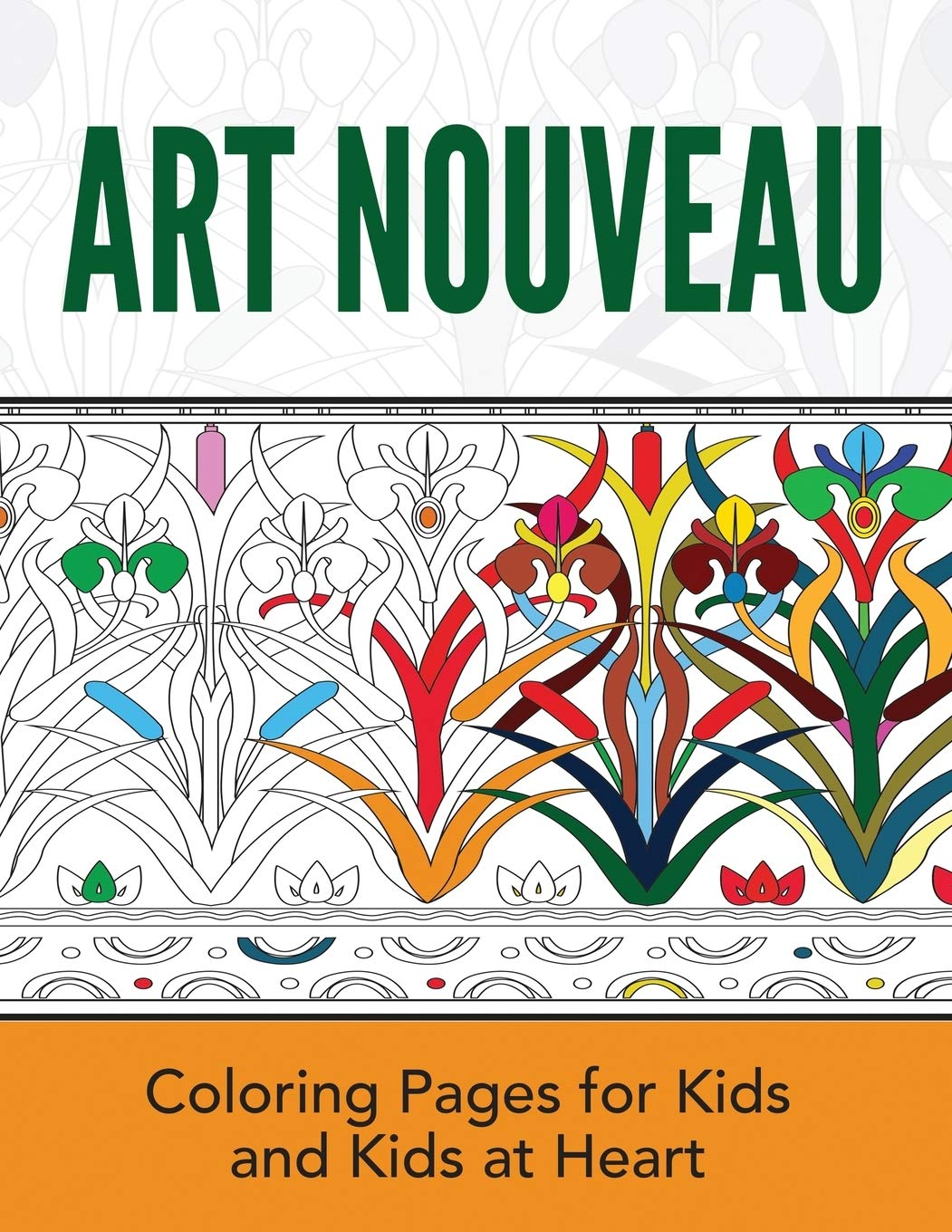 - Art Nouveau: Coloring Books For Kids And Kids At Heart (Hands-On