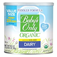 Baby's Only Dairy Toddler Formula, 26.1 Oz (Pack of 1) | Non GMO | USDA Organic...