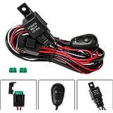 Amazing Amazon Com Senlips Light Bar Universal Wiring Harness 10Ft 12V 40A Wiring Database Gramgelartorg