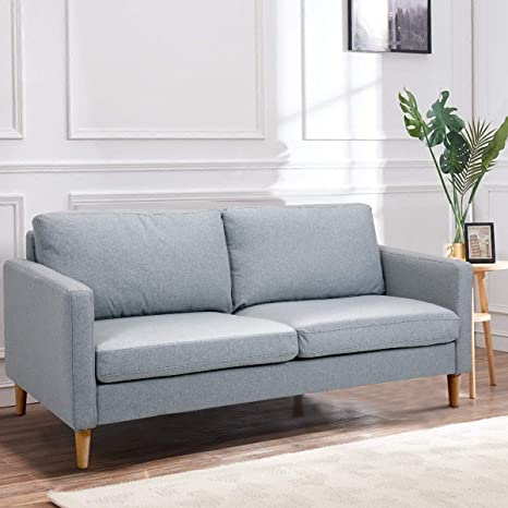Amazon.com: Kanizz Contemporary Perfect Living Room Sofa ...