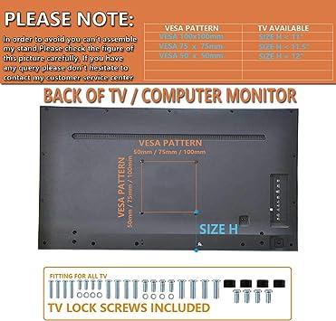 2 PAQUETES Soporte vertical para monitor LCD para pantalla de 13 ...