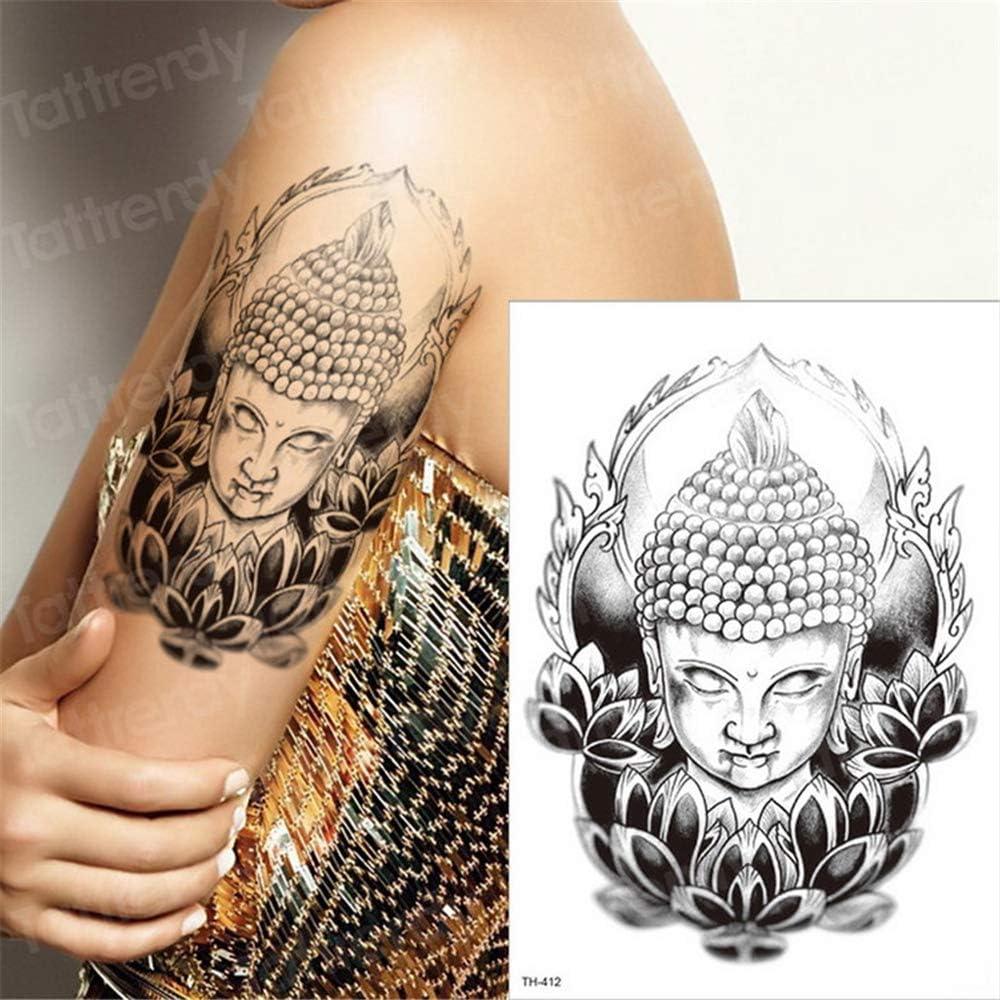 tzxdbh 5PCs-Hombres Tatuaje Gato Tigre Lobo Tatuaje Manga Hombres ...