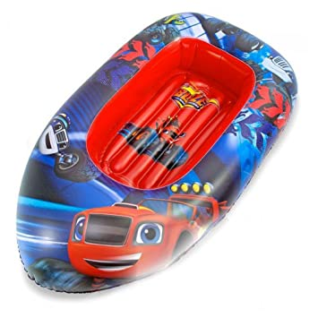 Amazon.com: Blaze & Monster Machine – Boat, 120 cm (SAICA ...