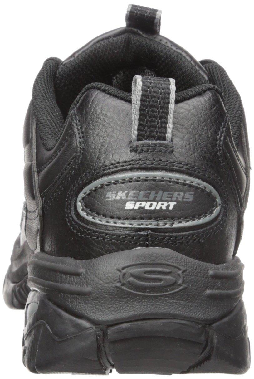 Skechers Sport Men's Energy Afterburn Lace-Up Sneaker,Black,13 M by Skechers (Image #2)