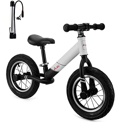 AODI 12 Inch Sport Balance Bike, Pro Lightweight No-Pedal Toddlers Bike