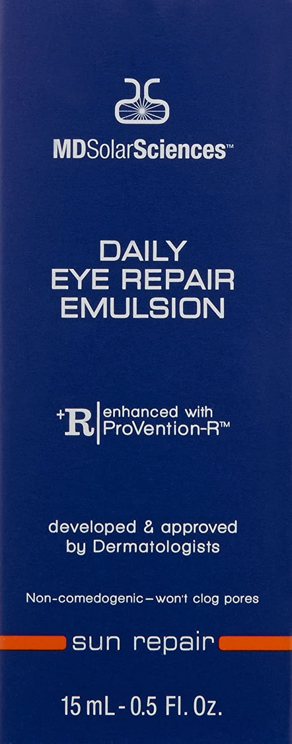 amazon com mdsolarsciences daily eye repair emulsion 0 5 fl oz