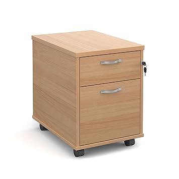 Oficina elefante oe05-r2mb dos cajón Pedestal móvil con un poco profundas y un armario