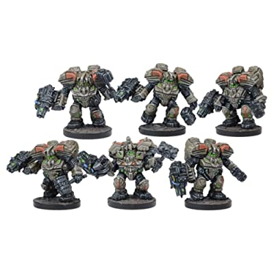 Warpath Universe Forge Fathers Hammerfist Drop Team: Toys & Games
