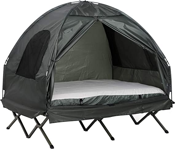 Outsunny Extra Large Camping Beds For Tens