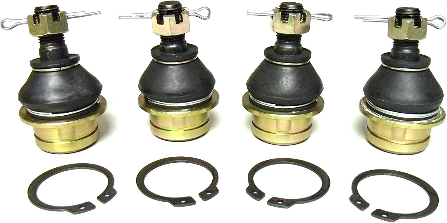 ATV Parts Connection Full Set of Upper//Lower Ball Joints for Suzuki King Quad 450 500 700 750 4x4