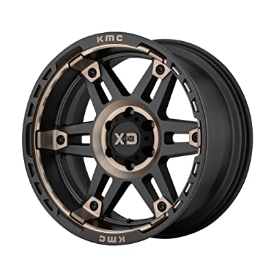 XD SERIES BY KMC WHEELS SPY II SATIN BLACK W/DARK TINT SPY II 17x8 6x120.00 SATIN BLACK W/DARK TINT (18 mm) AUTOMOTIVE WHEEL: Automotive