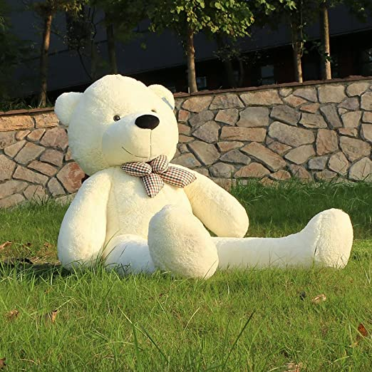"""49 opinioni per Joyfay marca Grande Orsacchiotto 160cm 63"""" orso di peluche gigante Bianco"""
