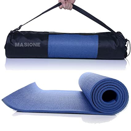 Masione Esterilla para NBR – Esterilla de Fitness Turn Suelo Esterilla para Yoga Pilates Deporte Fitness Gimnasia Entrenamiento Gimnasia Estiramiento ...