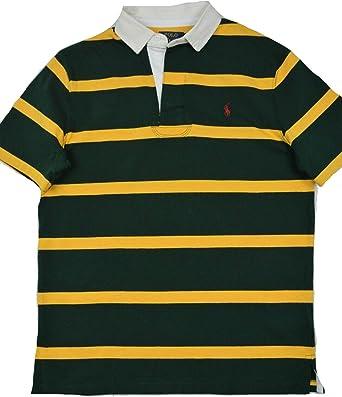Polo Ralph Lauren - Camiseta de Rugby para Hombre, diseño de Rayas ...