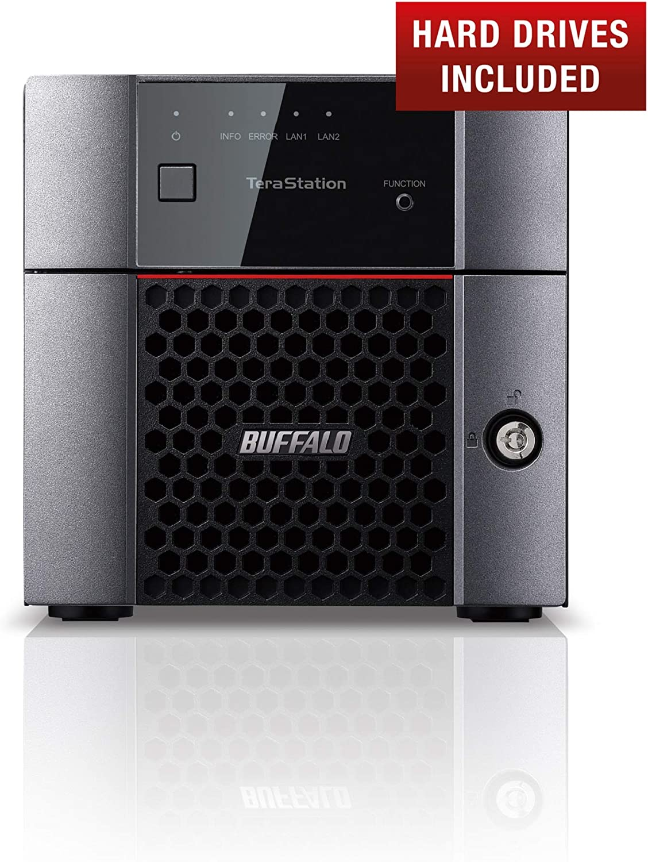 Buffalo Ts3210dn0802 Eu Terastation 3210dn 2 Bay Computer Zubehör