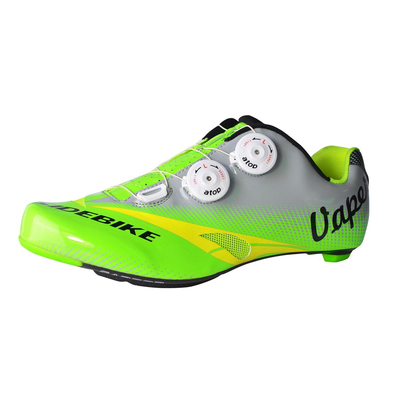 [SIDEBIKE] Adult 's j05 MTB合成Professional Shoe B014XL0E48  MTB-Green 12 M US