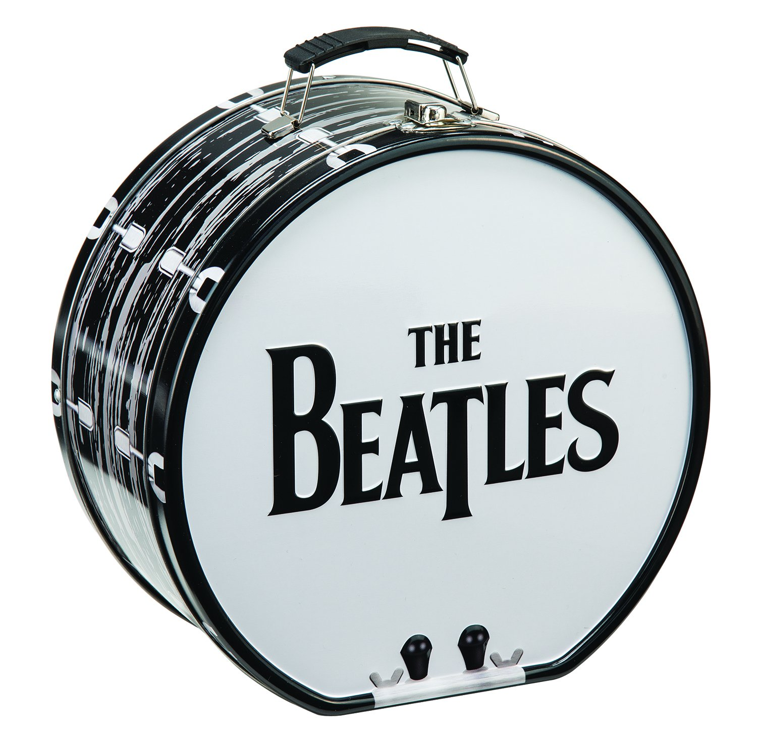 The Beatles bass drum shaped lunch box