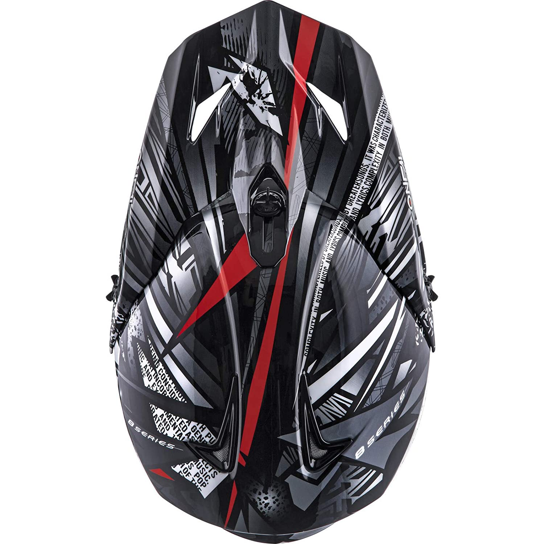 Oneal 8SRS Helmet SYNTHY Black Casco