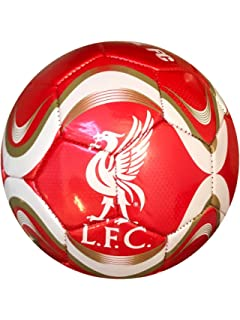Icon Sports Official Licensed Size 5 Soccer Ball Liverpool FC Red