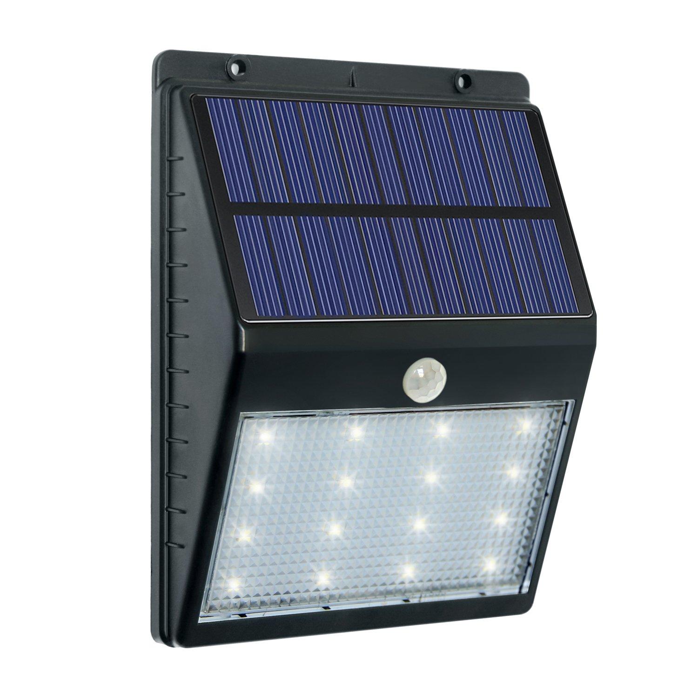 CREATVIE DESIGN Solar Lights, Solar Motion Sensor Light 16 LED, Outdoor Waterproof Security Wall Light, Wireless Detector for Garden/Pathway/Porch/Yard/Street/Patio with Auto On/Off by CREATIVE DESIGN B01DZAL6YK
