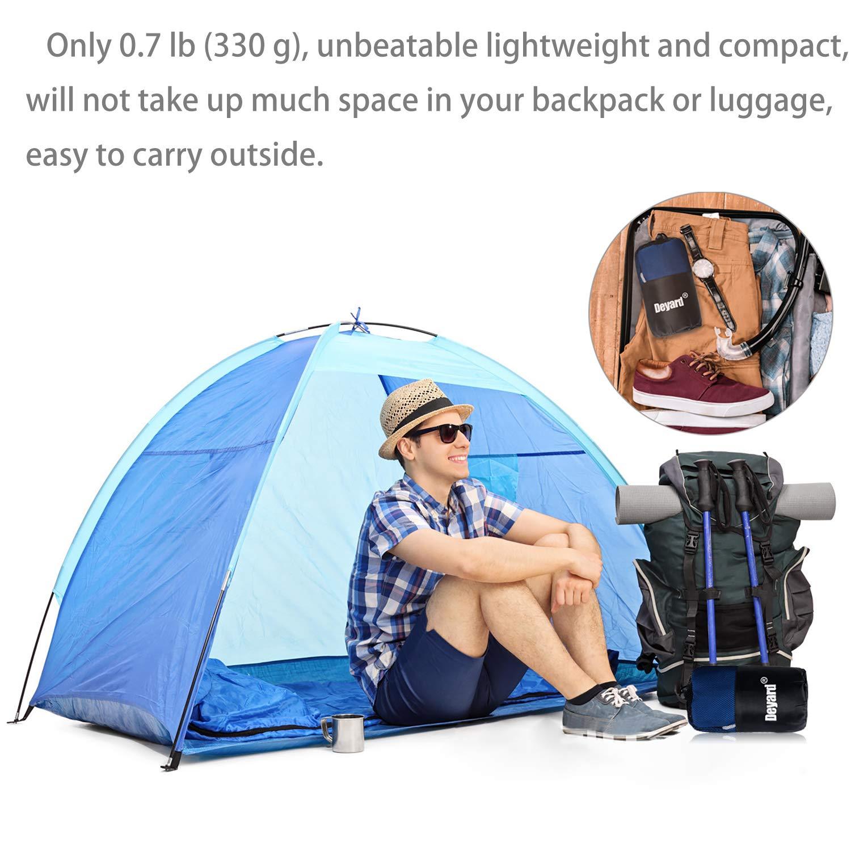 Deyard Sleeping Bag Liner Outdoors Camping Sheet Lightweight Portable Perfect Travel Camping Hotels