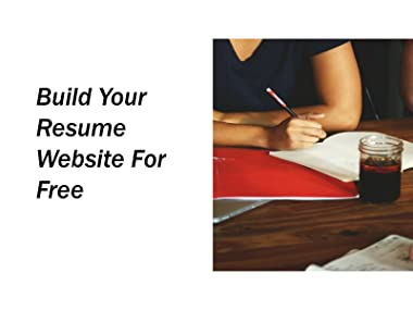 Amazon Watch Build Your Resume Website For Free
