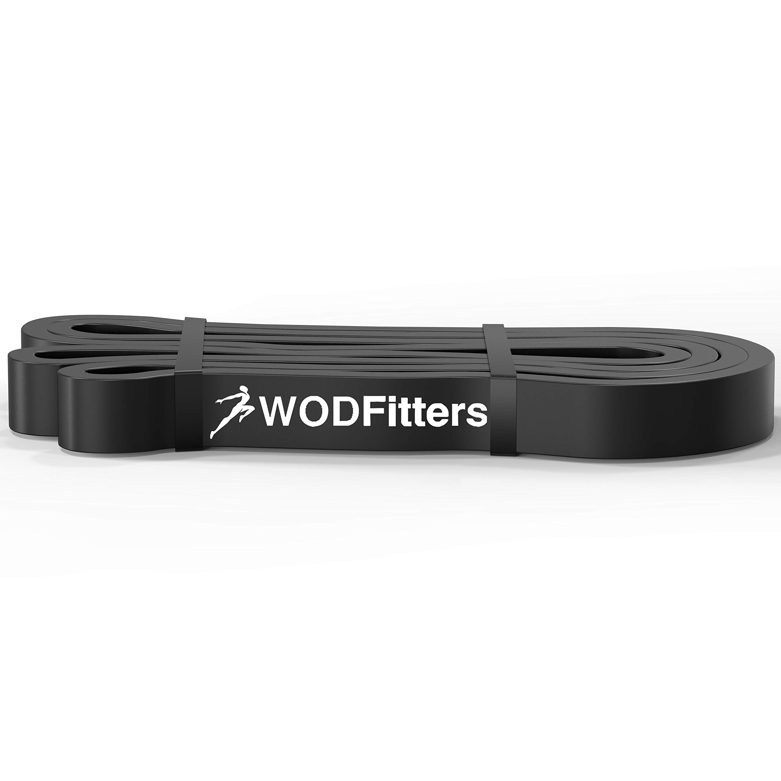 WODFitters Black Band Resistance Bands Black - Single Band Assisted Pull-up Resistance Band Cross Fitness Training Power-Lifting - by WODFitters (Image #4)