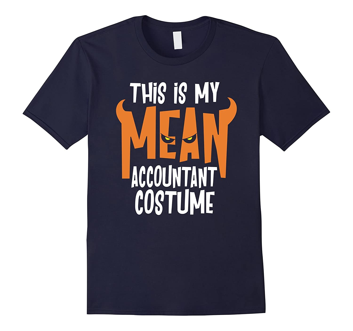 Accountant Costume Shirt Funny Halloween TShirt-PL