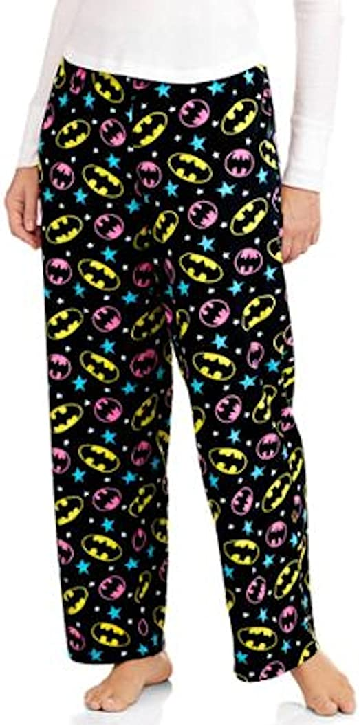 BATMAN Batgirl JUSTICE LEAGUE movie NEW Women/'s LADIES lounge SLEEP Pajama PANTS