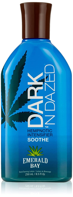Emerald Bay Dark 'N Dazed Soin hydratant intensificateur de bronzage à l'huile de chanvre EB22049