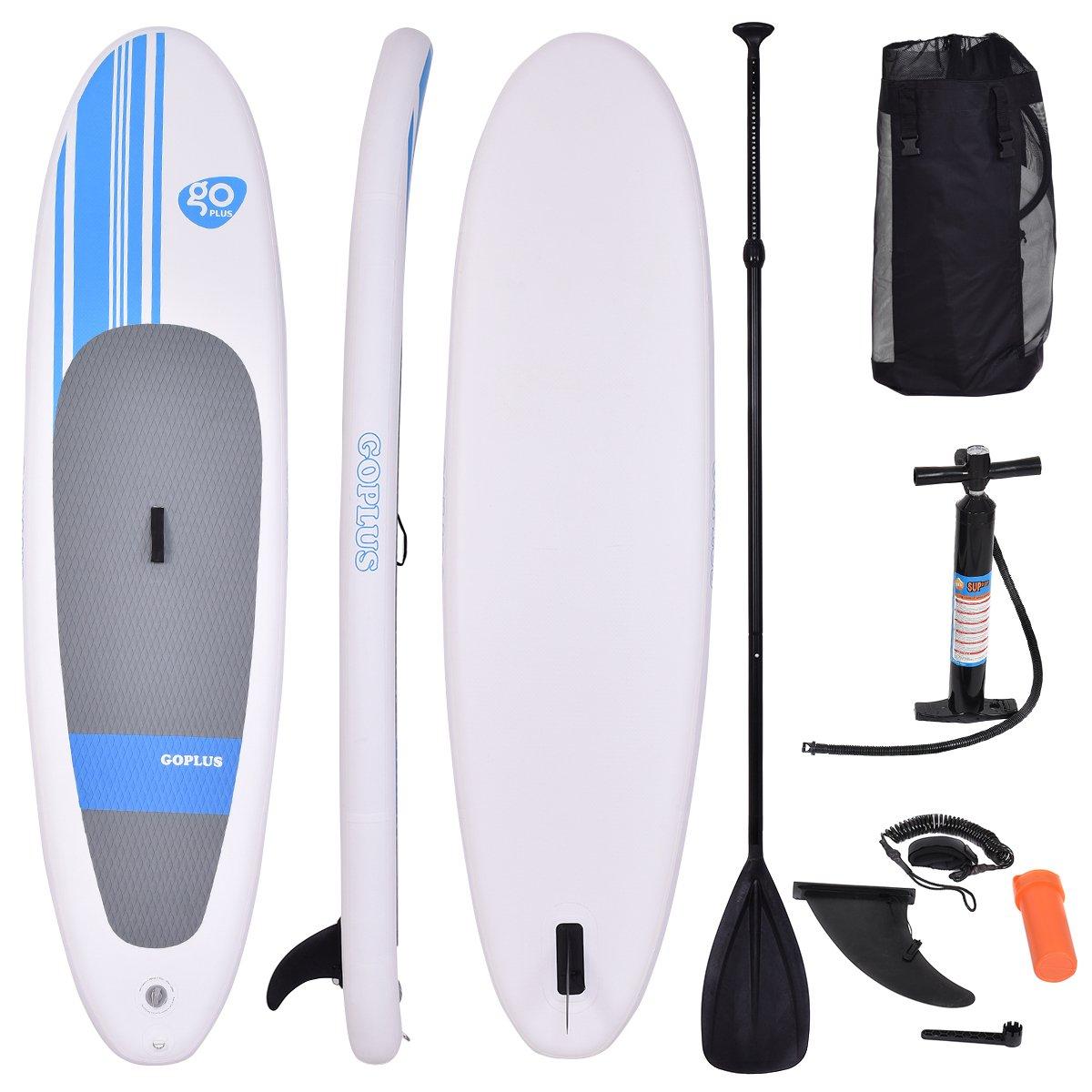 Goplus Paddelboard Surfboard Sup-Board Paddelbrett Stand Up Board ...