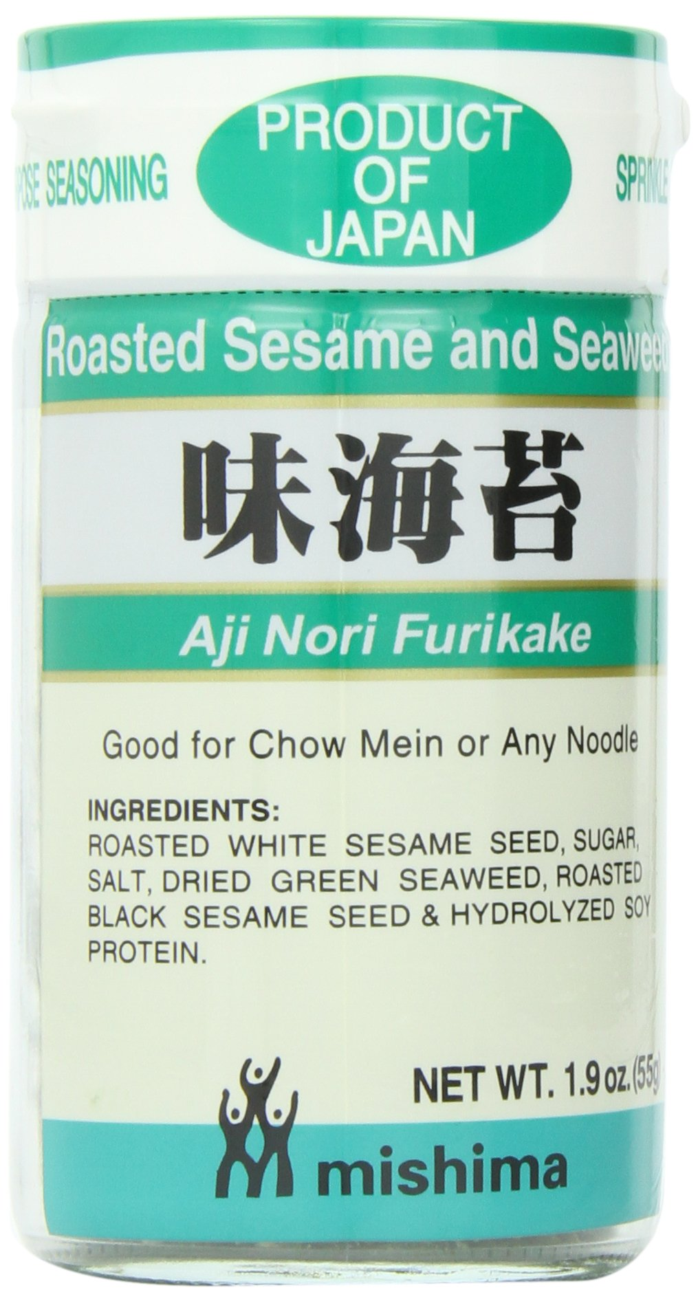 Shirakiku Furikake Aji Nori, 1.9-Ounce Units (Pack of 10)