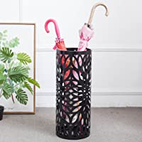 Simple Fashion Iron Art Umbrella Stand Metal Art Carved Umbrella Bucket Home Umbrella Storage