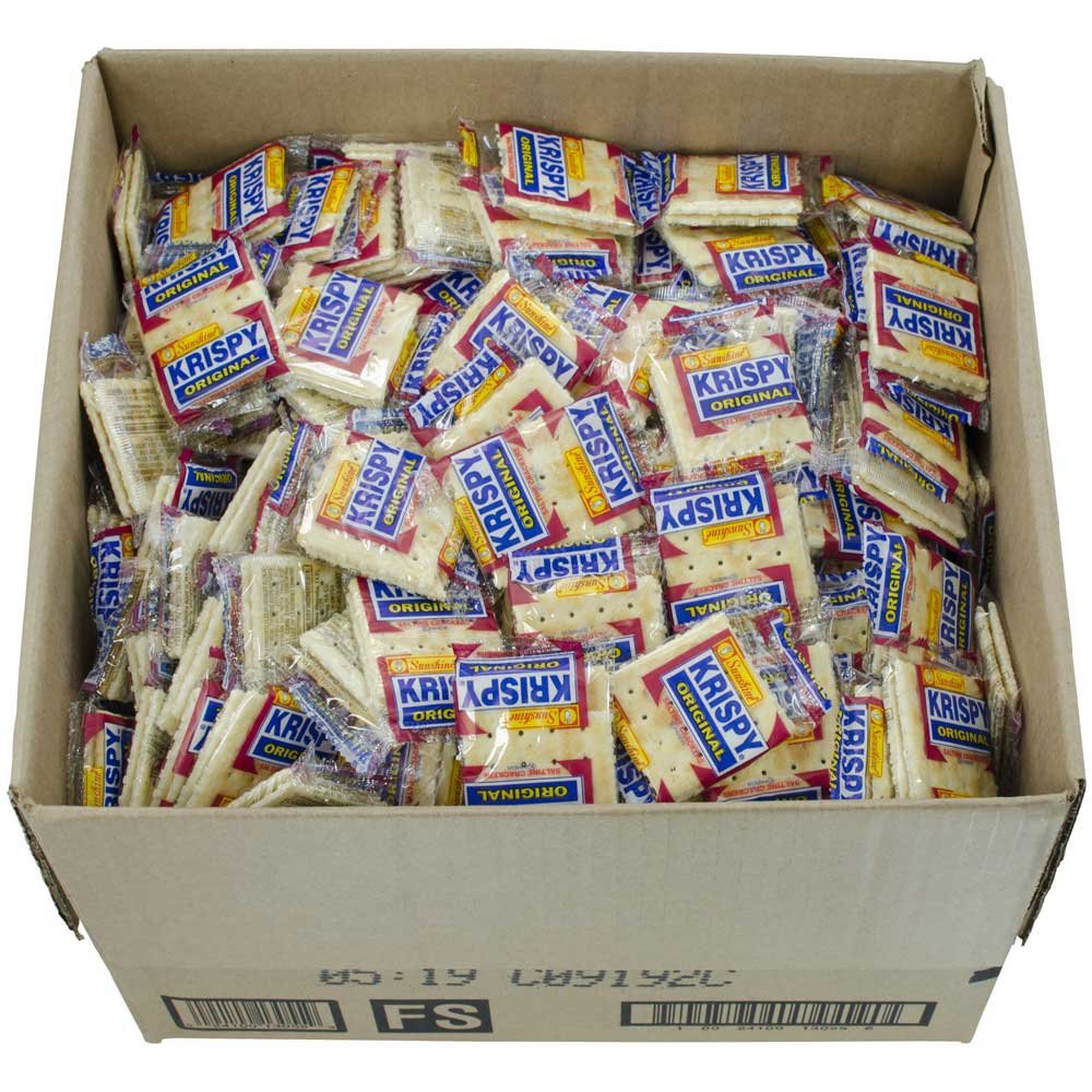 Cracker Sunshine Krispy Saltine 500 Case 2 Count