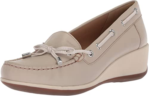 Dime Acostumbrados a considerado  Geox Women's Arethea a Loafers: Amazon.co.uk: Shoes & Bags