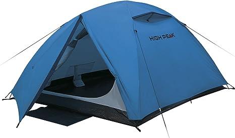 High Peak Kuppelzelt Woodpecker 3, Campingzelt, Trekkingzelt