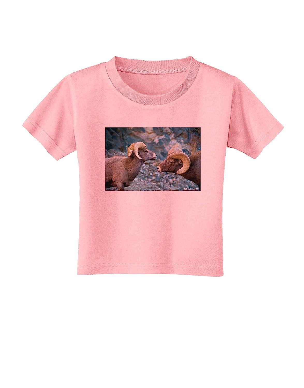 TooLoud Two Bighorn Rams Toddler T-Shirt